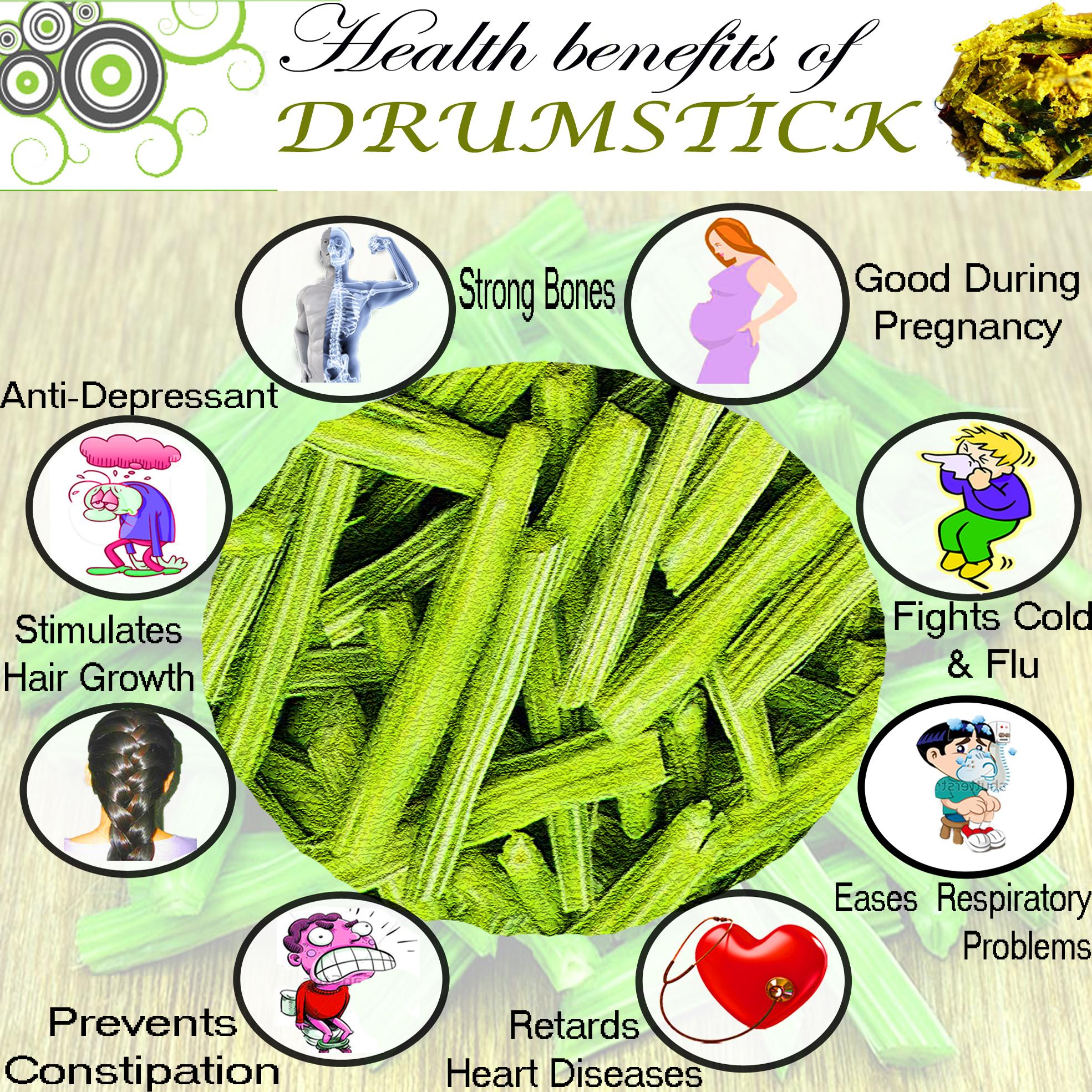 drumstick | properties, nutritional values - veggies info