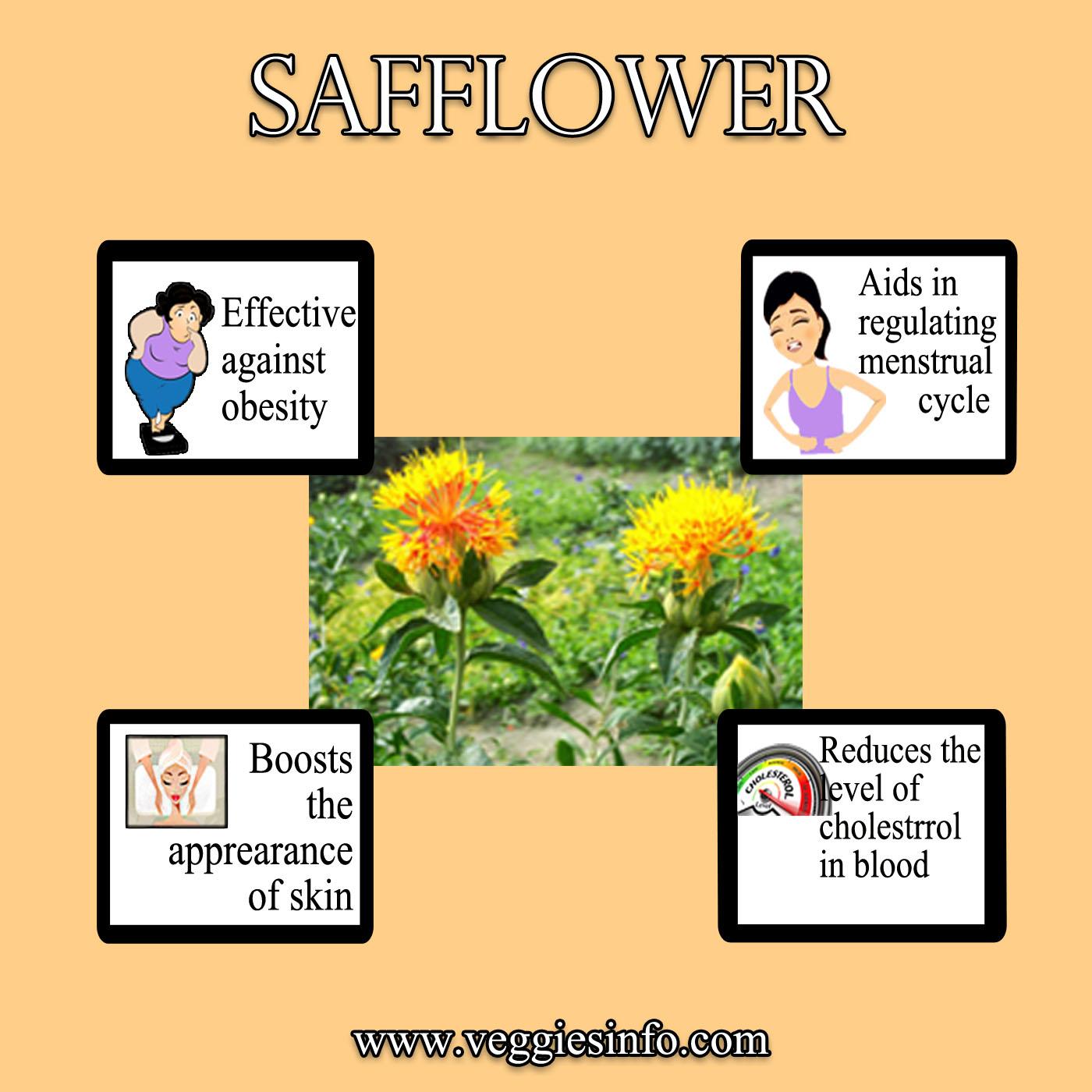 Safflower Health Benefits